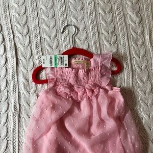 First Impressions Bubble Romper - NWT